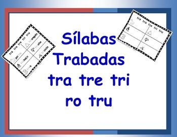 Combinacion de Consonantes tra, tre, tri, tro, tru