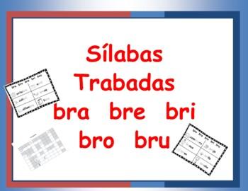 Combinacion de consonantes bra bre bri bro bru