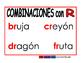 Combinacion de consonantes rojo