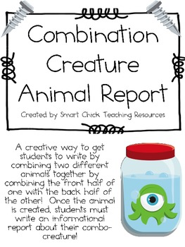 Combination Creature Creation Writing Project