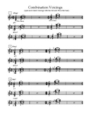 Combination Voicings for Jazz Vibes
