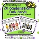 Combination and Permutation Task Cards - Uses Mall theme,