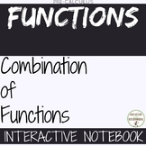 Combination of Functions Color Interactive Notebook for  P