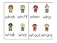 wh and qu Phonics Game