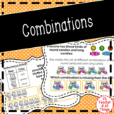 Combinations (All Possible Outcomes) Boom Cards SOL 3.14