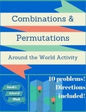 Combinations/Permutations Around the World Activity