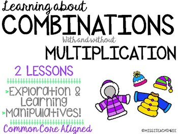 Combinations | With and Without Multiplication