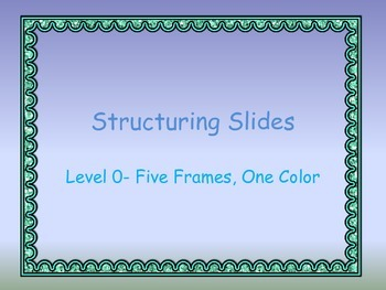 Combinations and Partitions of 5 using the Five Frame
