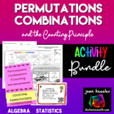 Combinations and Permutations Activity Bundle