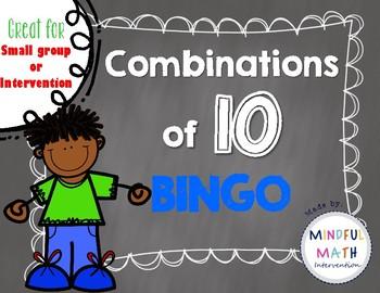 Combinations of 10 BINGO