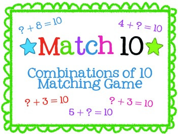 Combinations of 10 Game
