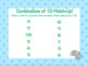 Combinations of 10 [Sums of 10] Introduction Flipchart