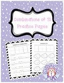 Combinations of 10 Practice Pages