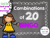Combinations of 20 BINGO