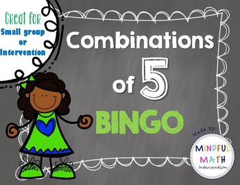 Combinations of 5 BINGO