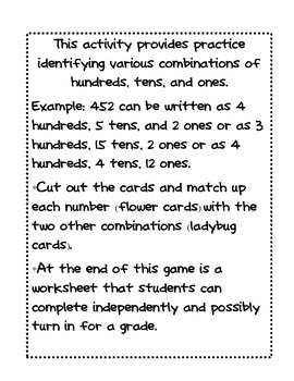 Number Combinations