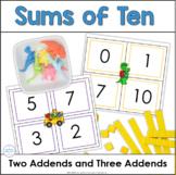 Combinations of Ten: Soaring Superheroes Sums of Ten