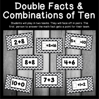 Combinations of Ten and Doubles Facts