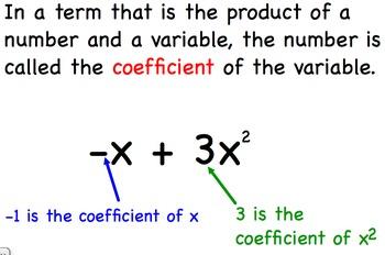 Combine Like Terms - Algebra