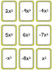 Combine Like Terms Card Game