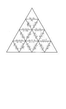 Equations: Combine Like Terms Puzzle