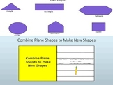 Plane Shapes to Make New Shapes Interactive Lesson