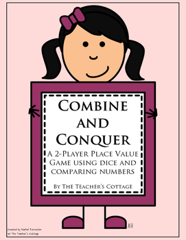 Combine and Conquer Place Value Game