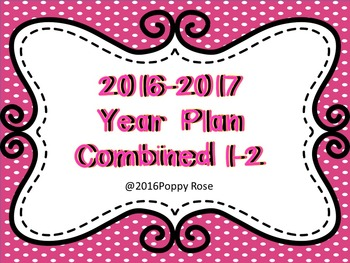 Combined 1-2  Editable Year Plan