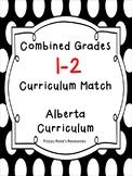 Combined Grades 1-2 Curriculum Match Alberta