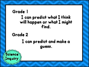 Combined Grades 1-2 Science Curriculum Match and I Can Statements - Alberta