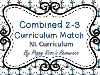 Combined Grades 2-3 Curriculum Match - NL