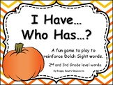 Combined Grades 2-3 I Have Who has Sight Word Game