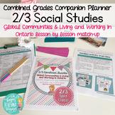 Combined Grades Social Studies: Grade 2/3 People and Envir