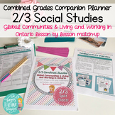 Combined Grades Social Studies: Grade 2/3 People and Envir