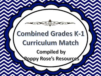 Combined K-1 Newfoundland Curriculum Match