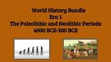 Combined Paleolithic and Neolithic Units: World History Era 1