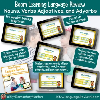 Combined Review BOOM Task Cards  Bundle