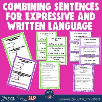 Combining 2 & 3 Sentences For Expressive & Written Language