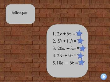 Combining Algebraic Expressions and Like Terms