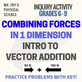 Combining Forces - Intro to Vector Addition! 10 Practice P
