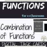 Combining Functions Digital Task Card Activity PreCalculus