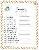Algebra 1: Combining Like Terms - 42 Task Cards Plus Worksheets