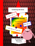 Combining Like Terms: A Skittles Activity