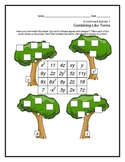 Combining Like Terms Activity Bundle