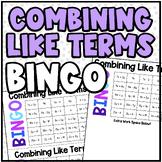 Math BINGO | Combining Like Terms
