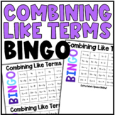 Math BINGO | Combining Like Terms