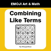 Combining Like Terms - Emoji Math & Art | Draw by Number | Coloring Pages