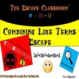Combining Like Terms Escape Room | The Escape Classroom
