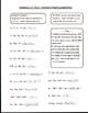 Combining Like Terms Guided Notes