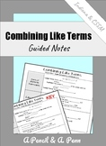 Combining Like Terms Lesson (with Multi-Variable Terms)